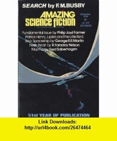 Amazing Science Fiction Stories, December 1976 (Vol. 50, No. 3.) Philip Jose Farmer, George R. R. Martin, Fred Saberhagen, Ted White ,   ,  , ASIN: B004TM8EWQ , tutorials , pdf , ebook , torrent , downloads , rapidshare , filesonic , hotfile , megaupload , fileserve