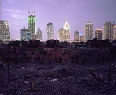 Shanghai Falling #1 (Neighborhood Demolition, Fuxing Zhong Lu) 2002 - Greg Girard, Phantom Shanghai