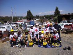 Cruz Roja Mexicana, Delegación Tlaxcala durante la entrega de su nuevo equipo de Rescate GENESIS. EMS Mexico | Equipando a los Profesionales