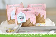 Elena's Ice Cream Party - Lawn Fawn