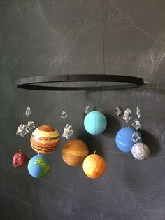 DIY Solar system mobile