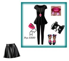 """""""Corpo Triangulo Invertido"""" by luazevedo80 on Polyvore featuring EAST, Juicy Couture, Givenchy, Kate Spade and Boohoo"""