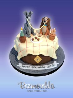 Lady And The Tramp  on Cake Central