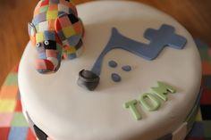 Elmer Birthday Cake #2 - this is my favorite! :)