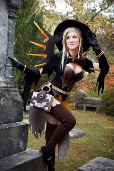 Mercy (Witch skin) by UNKNOWN