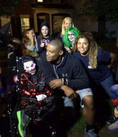 Cam Newton Brings Ice Cream Truck To Cancer Kid's Halloween Party- http://getmybuzzup.com/wp-content/uploads/2015/09/cam-newton.jpg- http://getmybuzzup.com/cam-newton-brings-ice-cream/- By Besherat Habties Ten year old Elijah Hughes favorite holiday is Halloween. With doctors not knowing if he will make it to October 31st with him battling cancer, the community threw an early Halloween block party for him last night. One particular superhero heard about the news and decided