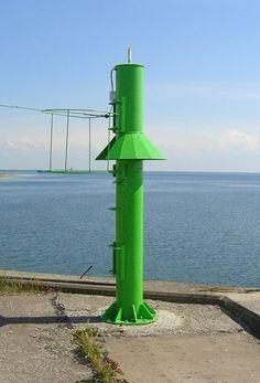 Paldiski harbour light beacon, Estonia