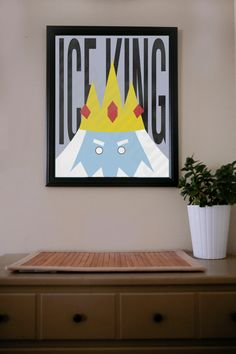 Adventure Time / Ice King / Poster by UrbanDinosaur on Etsy, $18.00