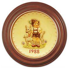 1988 Annual Hummel Plate No. 284 Little Goat Herder. $109.00
