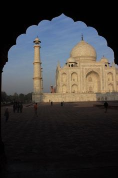 The Taj Mahal - Bucket List Moment...during my volunteer project with Cross-Cultural Solutions