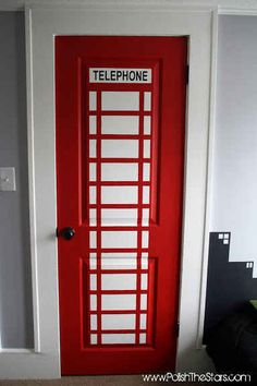 Turn your kid's closet into Superman's telephone booth.