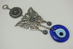 Evil Eye Wall Hanging Butterfly evil eye wall by EvilEyeHome