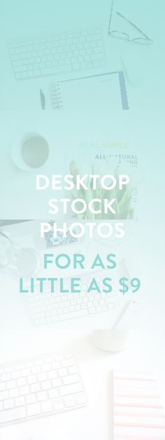 Desktop Stock Photos for bloggers and business owners! Great for blog posts, social media shares, website images, and more! Photos for as low as $9!