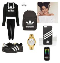 """Adidas Kinda Girl :)"" by mckenzie-savae on Polyvore featuring adidas, adidas Originals and Tissot"