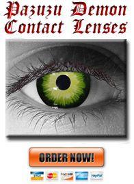 Pazuzu Demon Eye Contacts
