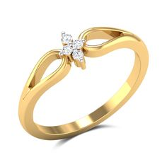 Martha Diamond Promise Ring