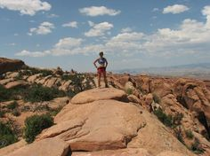 along the 'primitive' trail in #Devil'sGarden, #Arches NM, #Moab UT