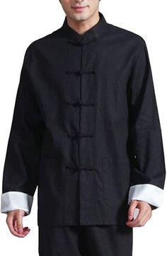 Kung Fu Uniform  Bekleidung, Herren, Streetwear, Trainingsanzüge Kung Fu Uniform, Mantel, Chef Jackets, Streetwear, Sport, Vintage, Fashion, Style, Men Summer