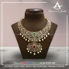 Latest Jewellery, Jewellery Designs, Indian Wedding Jewelry, Bridal Jewelry, Emerald Diamond, Diamond Jewelry, Jewelery, Jewelry Necklaces, Indian Bridal Fashion