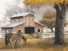 Afternoon At The Farm by artist Ed Wargo