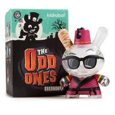 Barber Kidrobot The Odd Ones by Scott Tolleson 3-Inch Vinyl Mini-Figure