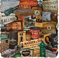 Authentic Irish Pub Decor from Ireland