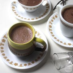 Treat yourself to a decadent vegan hot cocoa! Maybe with a dash of mint rum?