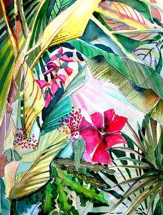 Hidden Beauty Painting  - Hidden Beauty Fine Art Print