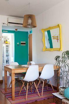 Evangelina y Demián. Departamento de dos ambientes + balcón en Palermo, Ciudad de Buenos Aires.