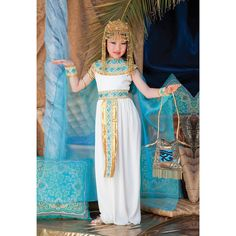 I found great Halloween Costumes on BuyCostumes.com. She's ready to Walk like an Egpytian! Click here to find more unique Costume ideas! Life's better in costume.