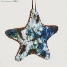 West African Star Ornament