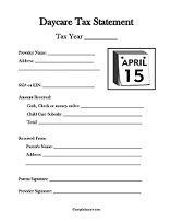 Awesome daycare forms | kids /Daycare ideas | Pinterest | Daycare ...