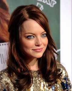 Emma Stone.  Hair. Love.