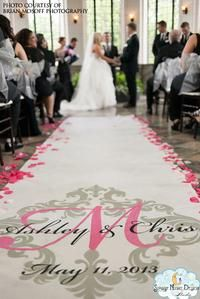 Majestic wedding aisle runner for a princess wedding #princessaislerunners, #royalweddingaislerunners