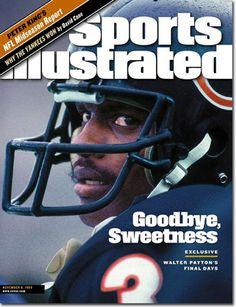 "Sports Illustrated Magazine (November 8, 1999) ""Goodbye, Sweetness - Walter Payton's Final Days"""