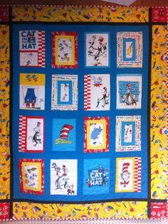 Dr Seuss quilt