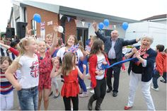 Sir Francis Hill School in Lincoln celebrates the Diamond Jubilee