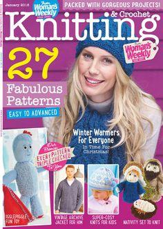 Knitting & Crochet from Woman's Weekly - January 2016 - 轻描淡写的日志 - 网易博客