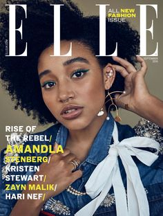 Amandla Stenberg Helps Make Over ELLE UK's September Issue + Serayah Defends Chris Brown, And It Doesn't End Well