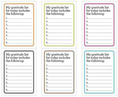 Freebie | Printable Gratitude Journaling Cards | Scrapbooking | CraftGossip.com