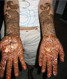 HennaFanatic. Henna for bride.  South Asian wedding