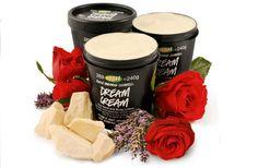 Dream Cream body cream by Lush Cosmetics - great for getting rid of seasonal eczema Lush Cosmetics, Handmade Cosmetics, Lush Dream Cream, Best Lotion, Lush Fresh, Facial Cream, How To Make Oil, Body Lotions, Natural Skin Care