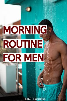 health and fitness These 4 simple steps make for the best morning routine for men! A morning routine is important, so start your day off the right way! Men's Health Fitness, Health And Wellness Quotes, Health And Fitness Articles, Health And Wellbeing, Wellness Tips, Health And Nutrition, Wellness Fitness, Muscle Fitness, Nutrition Education