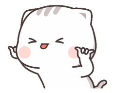 LINE Stickers Cutie Cat-Chan Jimao,Cutie Cat-Chan is coming again !,Stickers,Animated Stickers,Example with GIF Animation Cute Love Pictures, Cute Cartoon Pictures, Cute Love Cartoons, Cute Love Gif, Cute Cat Gif, Cute Images, Cute Bear Drawings, Cute Animal Drawings Kawaii, Cute Cartoon Drawings