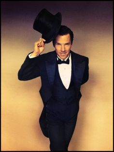 Benedict Cumberbatch in a suit and top hat. Your argument is invalid.