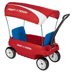 The Ultimate Family Wagon by Radio Flyer has seats that fold 5 ways for versatility. This kids covered wagon has a quiet ride and fold-over handle. Kids Wagon, Toy Wagon, Double Stroller For Twins, Double Strollers, Radio Flyer Wagons, Little Red Wagon, Kids Scooter, Ride On Toys, Child Safety
