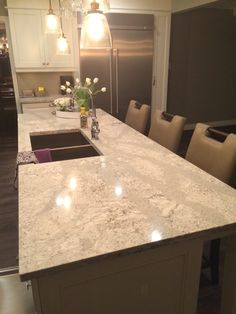 "Kitchen Countertops Quartz tips for choosing quartz kitchen countertops / silestone ""blanco"