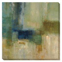 Simon Addyman 'Blue Cascade' Canvas Art   Overstock.com Shopping - The Best Deals on Canvas