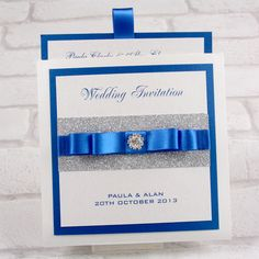 Cobalt blue wedding invitations wedding ideas pinterest luxury premium pocketfold invitations from our twinkle twinkle range of stationery and accessories horizon blue weddingsroyal filmwisefo Gallery