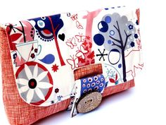 Cute clutch purse from etsy :-)